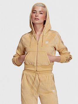 adidas-originals-relaxed-risque-velour-full-zip-hoodie-beige
