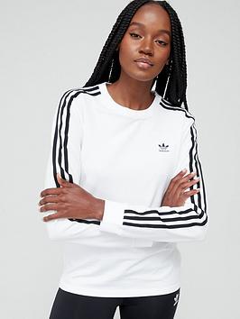 adidas-originals-3-stripe-long-sleeve-tee-white