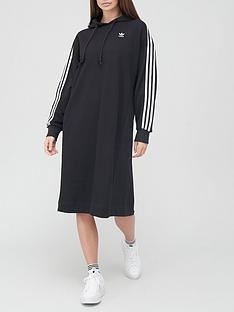 adidas-originals-hoodie-dress-black