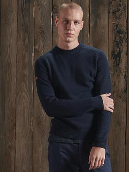superdry-harlo-crew-jumper-navy