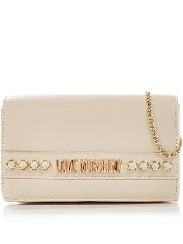 love-moschino-logo-stud-cross-body-bag-ivory