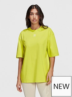 adidas-originals-trefoil-essentials-t-shirt-yellow