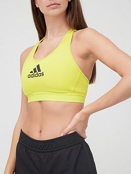 adidas-medium-supportnbspdont-rest-alpha-skin-sportsnbspbra-yellownbsp