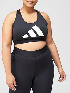 adidas-plusnbspdont-rest-3-bar-medium-supportnbspbra-black