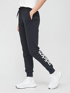 adidas-essentials-linear-fleece-pant-blacknbsp