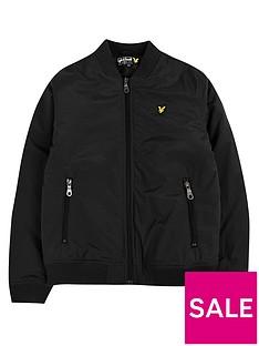 lyle-scott-boys-wadded-bomber-jacket-black