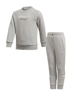 adidas-originals-childrens-adicolor-crew-set-grey