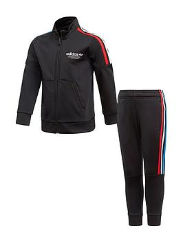 adidas-originals-childrens-adicolor-primebluenbsptracksuit-black
