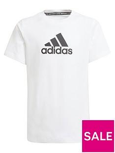 adidas-boys-badge-of-sport-tee-whiteblack