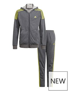 adidas-junior-boys-cotton-tracksuit-dark-grey-heather