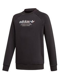 adidas-originals-childrens-adicolor-crew-neck-black