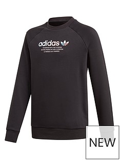 adidas-originals-childrens-adicolor-crew-neck-black