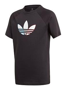 adidas-originals-originals-childrens-adicolournbsptee-black