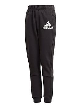 adidas-boys-badge-of-sport-pants-black