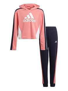 adidas-girls-hooded-crop-tracksuit-pinknbsp