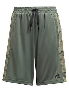 adidas-boys-camo-shorts-green