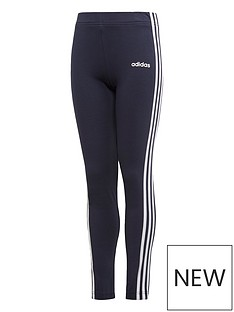 adidas-youth-girls-essentials-3-stripe-tights-greywhite