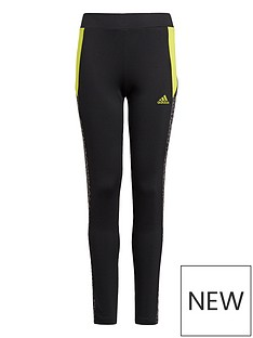 adidas-girls-leo-tights-black