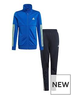 adidas-boys-team-tracksuit-bluenbsp