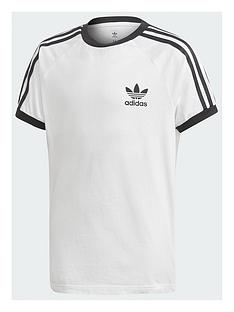 adidas-originals-childrens-3-stripes-tee-white-black
