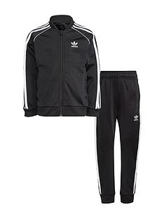 adidas-originals-childrensnbspsuperstar-tracksuit-black-white