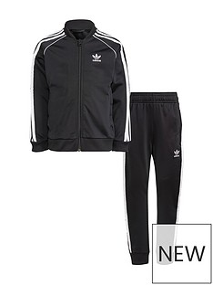adidas-originals-childrensnbspsuperstar-tracksuit-black-white
