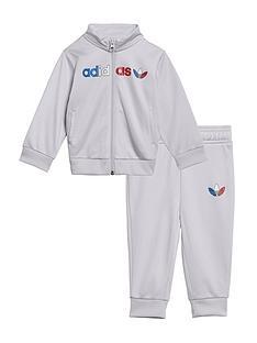adidas-originals-infants-adicolornbsptracksuit-grey