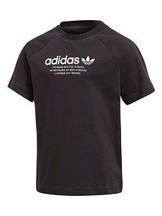 adidas-originals-childrens-adicolornbsptee-black
