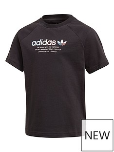adidas-originals-childrens-adicolornbsptee-black
