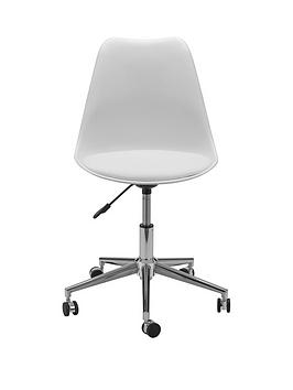 julian-bowen-erika-office-chair-whitechrome