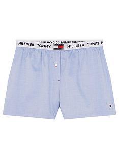 tommy-hilfiger-sleep-shorts-blue