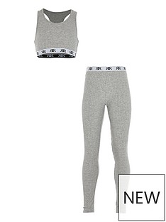 river-island-girls-ribbed-lounge-set-grey