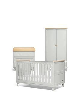 mamas-papas-trista-range-3-piece-cotbed-dresser-wardrobe