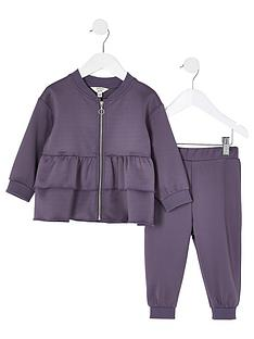 river-island-mini-girls-scubanbspzip-through-tracksuit-grey