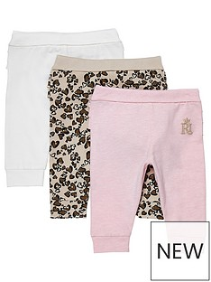 river-island-mini-baby-girls-3-pack-leggings-multi