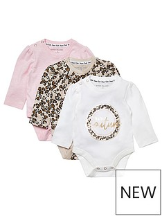 river-island-mini-baby-girls-3-pack-body-suits-multi