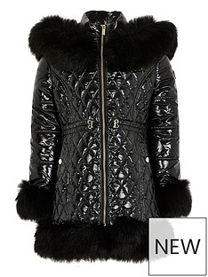 river-island-coatednbspquilted-coat-blacknbsp
