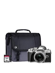 olympus-om-d-e-m10-mk-iii-camera-kit-inc-14-42-mm-f35-56-ez-pancake-lens-32gb-sd-cardnbspand-case-silver