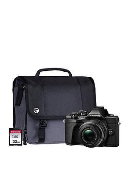 olympus-olympus-om-d-e-m10-mk-iii-camera-kit-inc-14-42-mm-f35-56-ez-pancake-lens-32gb-sd-and-case-black