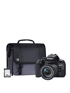 canon-eos-850d-slr-camera-kit-with-ef-s-18-55mm-f4-56-is-lens-64gb-memory-cardnbspamp-system-bag