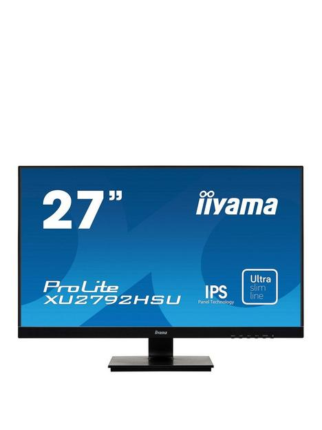 iiyama-prolite-xu2792hsu-b1-27-ips-hdultra-slim-bezel-black-hdmi-display-port-usb-hub