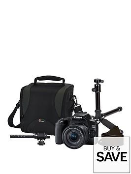 canon-canon-eos-250-dslr-cameranbspvlogger-kit-inc-18-55mm-lens-bag-tripod-neck-strap-shotgun-mic