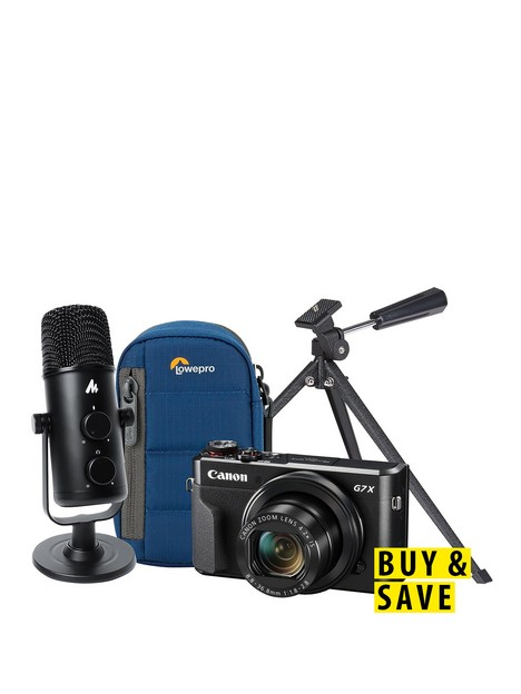 canon-powershotnbspg7x-mkii-vlogger-kit-inc-camera-studio-desktop-microphone-case-amp-tripod