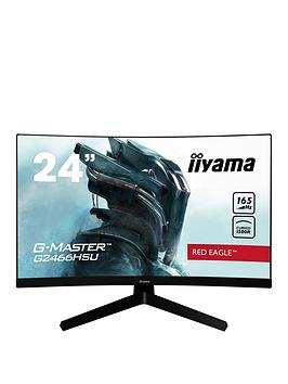 iiyama-g-master-g2466hsu-b1-236-va-165hz-full-hd-1ms-mprt-freesync-hdmi-display-port-curved-1500r