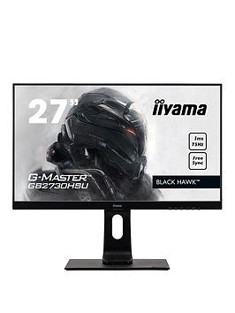 iiyama-g-master-gb2760hsu-b1-27-black-full-hd-1ms-144hz-freesync-hdmi-display-port-height-adjustable