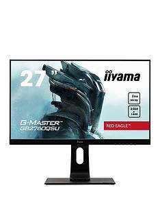 iiyama-g-master-gb2760qsu-b1-27-black-2560-x-1440-1ms-144hz-freesync-hdmi-display-portheight-adjustable