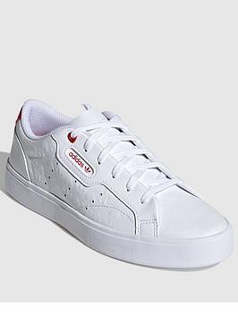 Adidas Originals Sleek - White/Red