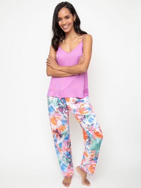 cyberjammies-aimee-paint-brush-print-cami-and-trouser-pj-set-ndash-multi