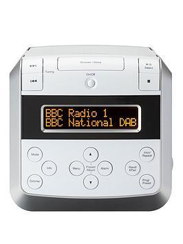 Roberts Sound48W Dab/Dab+/Fm Stereo Clock Radio With Cd, Bluetooth, Usb Playback/Charging
