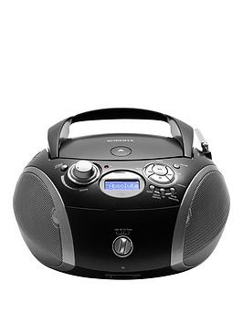 Roberts Zoombox3Bk Dab/Dab+/Fm Rds/Cd Player With Sd And Usb